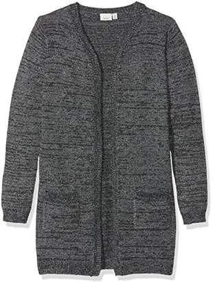 Name It Girl's Nithelani Ls Long Knit Card F NMT Cardigan,(Manufacturer Size: -152)