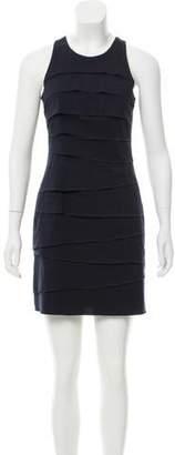 Nicole Miller Ruffled Mini Dress