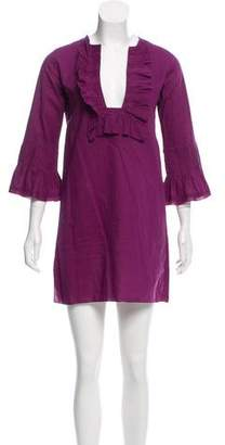 Anya Hindmarch Long Sleeve Mini Dress