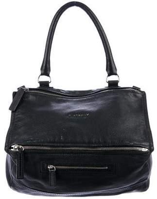 Givenchy Pandora Pebbled Leather Satchel