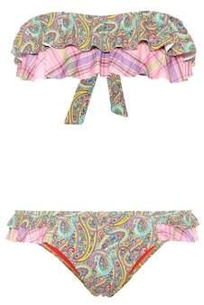 Etro Printed bikini