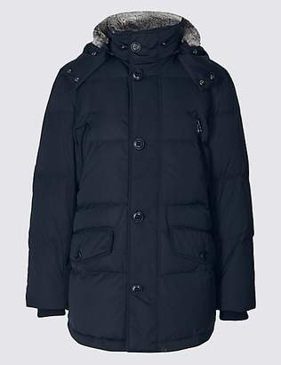 Blue Harbour Down & Feather Parka with StormwearTM