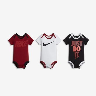 Nike Icons Three-Piece Infant Boys' Bodysuit Set $30 thestylecure.com