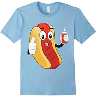 Cool Summer Hot Frank or Dog in a Bun T-Shirt