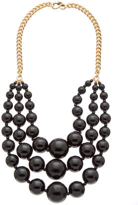 Kenneth Jay Lane Gold Plated Resin Necklace