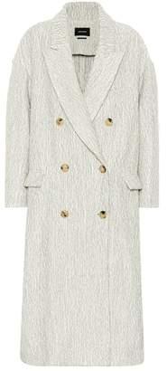 Isabel Marant Habra alpaca and wool coat