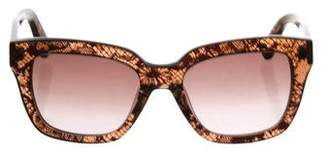 Valentino Lace Tinted Sunglasses