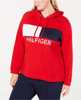 835b676e5 Tommy Hilfiger Plus Size Heritage Colorblocked Hoodie
