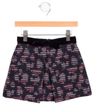 Oscar de la Renta Girls' Tweed Pleated Skirt w/ Tags