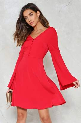 Nasty Gal Bust a Move Fit & Flare Dress