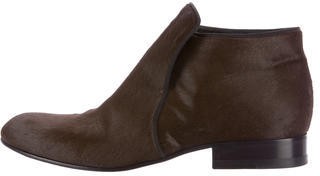 CelineCéline Ponyhair Ankle Boots