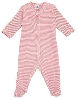Petit Bateau Trenta Striped Footie Playsuit, Baby Girl Size 1-9 Months