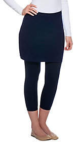 Legacy Capri Length Skirted Leggings
