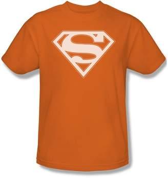 Superman & White Shield - Adult S/S T-Shirt For Men