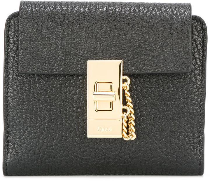 Chloé Chloé Drew square wallet