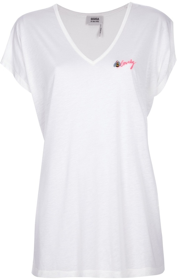 Sonia Rykiel Sonia By embroidered t-shirt