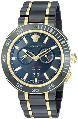 Versace Men's 'V-Extreme Pro' Swiss Quartz Stainless Steel Casual Watch