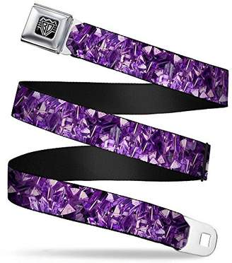 Buckle-Down Unisex-Adults Seatbelt Belt Crystals Regular