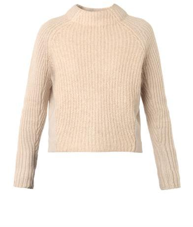ACNE STUDIOS Loyal wool and mohair-blend sweater
