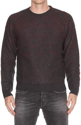 Woolrich Jacquard Crew Neck Sweater