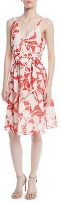 Club Monaco Nahala Sleeveless Floral-Print Dress