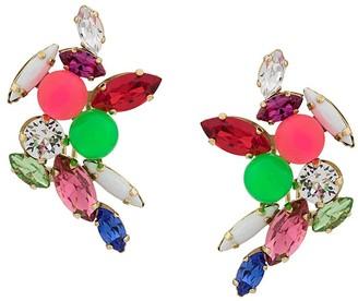 Shourouk crystal earrings