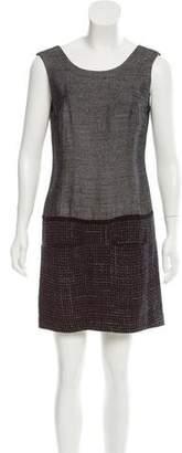Theyskens' Theory Sleeveless Mini Dress