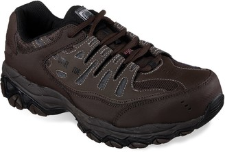 Skechers Relaxed Fit Cankton Men's Steel-Toe Shoes