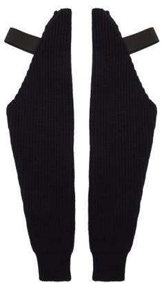 Raf Simons Wool Sleeves - Mens - Navy