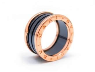 Bulgari B.Zero1 pink gold ring