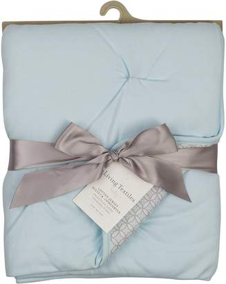 Living Textiles Jersey Pintuck Comforter, Blue/skylar