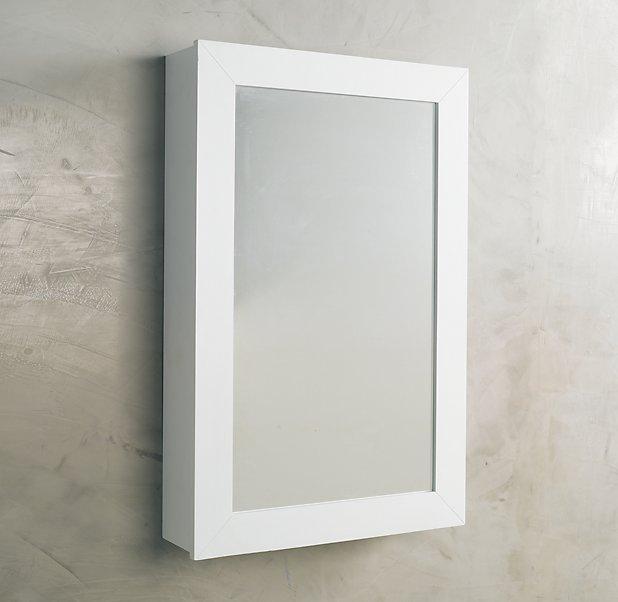 Hutton Wall-Mount Medicine Cabinet White
