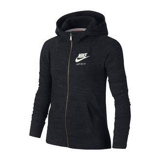 Nike Gym Vintage Cotton Full Zip Hoodie - Girls' 7-16
