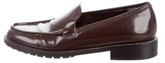 Robert Clergerie Patent Round-Toe Loafers