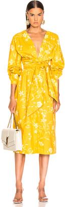 Johanna Ortiz San Bernardo Del Viento Dress in Dandelion Off White | FWRD