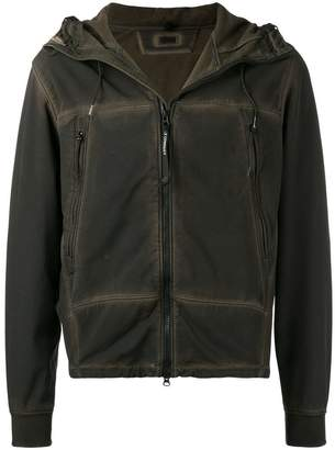 C.P. Company short hooded jacket