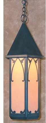 Arroyo Craftsman Saint George 1-Light Outdoor Hanging Lantern Arroyo Craftsman