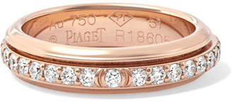 Piaget Possession 18-karat Rose Gold Diamond Ring - 52