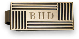 Asstd National Brand Antique Brass Die Struck Money Clip