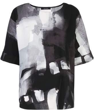 Natori printed T-shirt top
