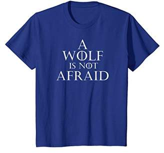 A Wolf Is Not Afraid Shirt King Or Queen Cosplay Tee