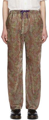 Needles Green Paisley Easy Lounge Pants