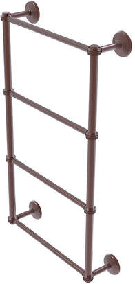 ALLIED BRASS Allied Brass Monte Carlo Collection 4 Tier 30 Inch Ladder Towel Bar with Dotted Detail