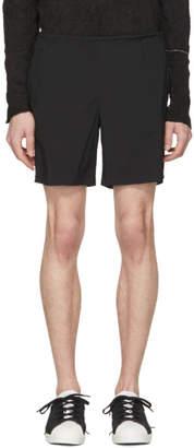 Kolor Black Nylon Drawstring Shorts