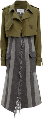 Derek Lam 10 Crosby Trench Coat Combo