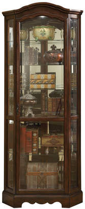 Co Darby Home Ferron Lighted Corner Curio Cabinet