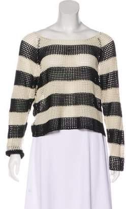 Mason Striped Cashmere Sweater