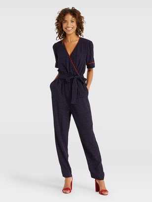 Draper James Self Tie Jumpsuit