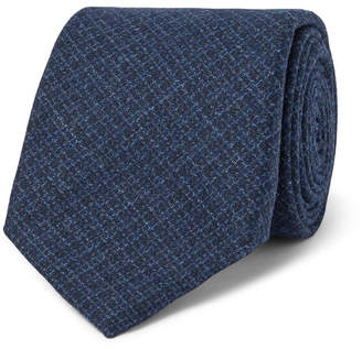Altea 8.5cm Checked Wool And Silk-Blend Tie