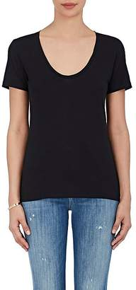 Barneys New York Women's Pima Cotton Scoopneck T-Shirt